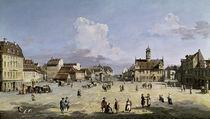 Dresden, Neustaedter Markt / Bellotto by AKG  Images