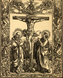 Albrecht Duerer, Christus am Kreuz by AKG  Images