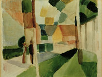 August Macke, Kandern I by AKG  Images