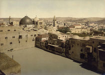 Jerusalem, Hiskias Teich / Photochrom by AKG  Images