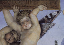 A.Mantegna, Camera degli Sposi, Putto by AKG  Images