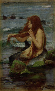 J.W.Waterhouse, Eine Nixe, 1892 by AKG  Images