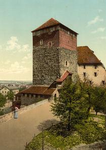 Nuernberg, Burg / Fuenfeckiger Turm /Foto by AKG  Images