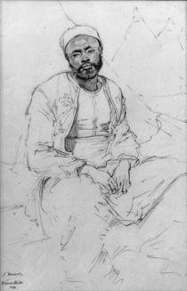 Ludwig Knaus, Sitzender Marokkaner by AKG  Images
