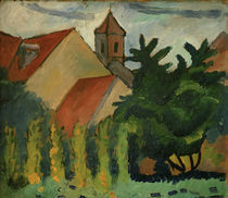 August Macke, Kirche in Kandern by AKG  Images