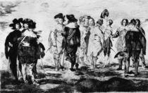 E.Manet, Die kleinen Cavaliere by AKG  Images