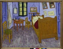 Van Gogh / Schlafzimmer in Arles / 1889 by AKG  Images