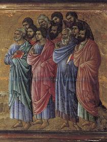 Duccio, Christus erscheint Juengern (Det) by AKG  Images