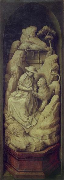 R.van der Weyden (Werkst.), Hieronymus by AKG  Images