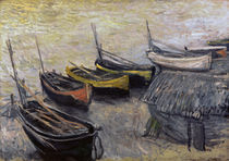 Claude Monet, Boote am Strand by AKG  Images