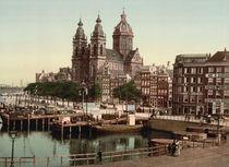 Amsterdam, St. Nikolaaskerk / Photochrom by AKG  Images