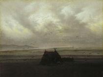 C.D.Friedrich, Nebelschwaden / um 1825 von AKG  Images