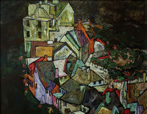 E.Schiele, Stadtende by AKG  Images