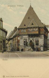 Goslar, Gildehaus / Postkarte by AKG  Images
