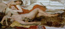 L.Alma Tadema, Erschoepfte Maenaden by AKG  Images