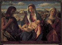 G.Bellini, Maria mit Kind u.Heiligen by AKG  Images