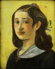P.Gauguin, Bildnis Aline Gauguin / 1890 by AKG  Images