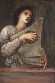 E.Burne Jones, Musikantin von AKG  Images