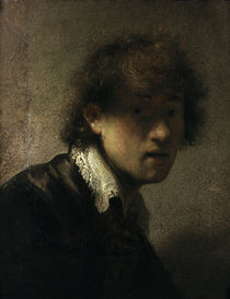 Rembrandt, Jugendliches Selbstbildnis by AKG  Images