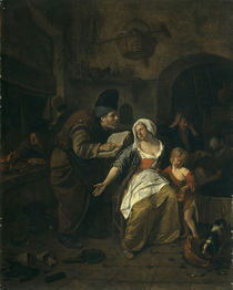 Alchemist / Gemaelde von Jan Steen by AKG  Images