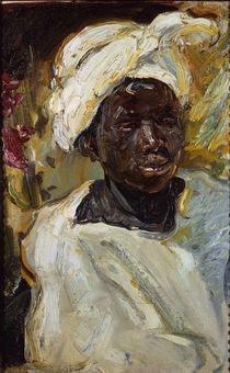 Slevogt, Negerjunge Mursi / 1914 by AKG  Images