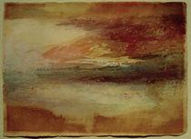W.Turner, Sonnenuntergang bei Margate von AKG  Images