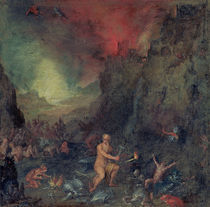 J.Brueghel d.Ae., Schmiede des Vulkan von AKG  Images