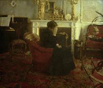 F.Khnopff, Schumanns Werken zuhoerend von AKG  Images