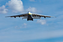 Antonov 225 on Final Approach by Joel Morin