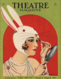 'Theatre Magazine, 1924' von Advertising Archives