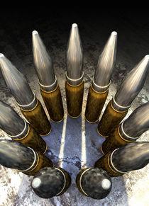 Bullets Circle by Graham Hughes