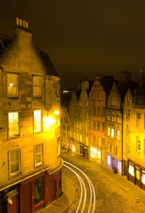 Scotland, Edinburgh, Old Town. by Jason Friend