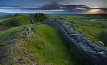 England, Northumberland, Hadrian'S Wall. by Jason Friend
