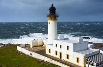 Scotland, Scottish Highlands, Rubha (Rua) Reidh Lighthouse. by Jason Friend