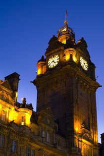 Scotland, Edinburgh, Balmoral Hotel. by Jason Friend