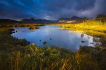 Schottland, Schottische Highlands, Rannoch Moor. von Jason Friend
