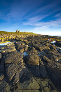 England, Northumberland, Dunstanburgh Schloss. von Jason Friend