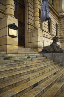 Czech Republic, Prague, Rudolfinum Concert Hall And Gallery by Jason Friend