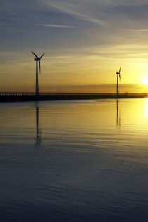 England, Northumberland, Blyth Offshore Wind Farm by Jason Friend