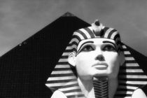 Sphinx and Window Washers, The Luxor by Eye in Hand Gallery