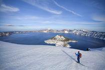 Crater Lake Ski von Scott Spiker