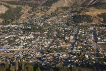 Aerial view of a town, Esquel, Chubut Province, Patagonia, Argentina von Panoramic Images