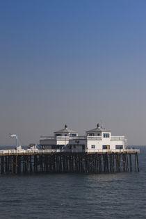 Pier in the sea, Malibu Pier, Malibu, Los Angeles County, California, USA by Panoramic Images