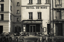 Facade of a hotel by Panoramic Images
