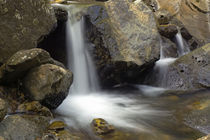 Waterfall On Rocky Mina Creek von Panoramic Images