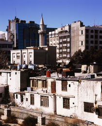 Houses in a city, Syria von Panoramic Images