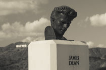 Bust of actor James Dean by Panoramic Images