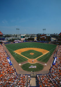 Mets Game at Shea Stadium by Panoramic Images
