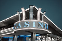 Low angle view of a casino von Panoramic Images