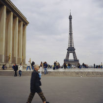 Palais De Chaillot, Eiffel Tower by Panoramic Images